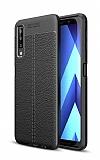Dafoni Liquid Shield Premium Samsung Galaxy A7 2018 Siyah Silikon Kılıf