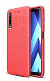 Dafoni Liquid Shield Premium Samsung Galaxy A7 2018 Kırmızı Silikon Kılıf