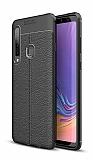 Dafoni Liquid Shield Premium Samsung Galaxy A9 2018 Siyah Silikon Kılıf