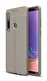 Dafoni Liquid Shield Premium Samsung Galaxy A9 2018 Gri Silikon Kılıf