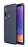 Dafoni Liquid Shield Premium Samsung Galaxy A9 2018 Lacivert Silikon Kılıf