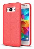Dafoni Liquid Shield Premium Samsung Galaxy Grand Prime / Prime Plus Kırmızı Silikon Kılıf