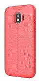 Dafoni Liquid Shield Premium Samsung Galaxy J2 Pro 2018 Kırmızı Silikon Kılıf