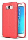 Dafoni Liquid Shield Premium Samsung Galaxy J5 2016 Kırmızı Silikon Kılıf