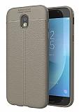 Dafoni Liquid Shield Premium Samsung Galaxy J5 Pro 2017 Gri Silikon Kılıf