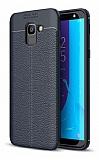 Dafoni Liquid Shield Premium Samsung Galaxy J6 Siyah Silikon Kılıf
