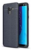 Dafoni Liquid Shield Premium Samsung Galaxy J6 Lacivert Silikon Kılıf