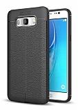 Dafoni Liquid Shield Premium Samsung Galaxy J7 2016 Siyah Silikon Kılıf