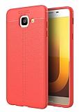 Dafoni Liquid Shield Premium Samsung Galaxy J7 Max Kırmızı Silikon Kılıf