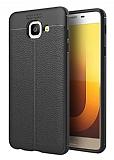 Dafoni Liquid Shield Premium Samsung Galaxy J7 Max Siyah Silikon Kılıf