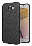 Dafoni Liquid Shield Premium Samsung Galaxy J7 Prime Siyah Silikon Kılıf