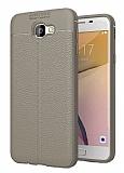 Dafoni Liquid Shield Premium Samsung Galaxy J7 Prime / J7 Prime 2 Gri Silikon Kılıf