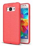 Dafoni Liquid Shield Premium Samsung Galaxy J7 Kırmızı Silikon Kılıf