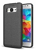 Dafoni Liquid Shield Premium Samsung Galaxy J7 Siyah Silikon Kılıf