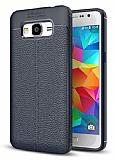 Dafoni Liquid Shield Premium Samsung Galaxy J7 Lacivert Silikon Kılıf