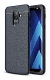 Dafoni Liquid Shield Premium Samsung Galaxy J8 Lacivert Silikon Kılıf