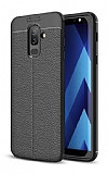 Dafoni Liquid Shield Premium Samsung Galaxy J8 Siyah Silikon Kılıf