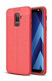 Dafoni Liquid Shield Premium Samsung Galaxy J8 Kırmızı Silikon Kılıf