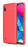 Dafoni Liquid Shield Premium Samsung Galaxy M10 Kırmızı Silikon Kılıf