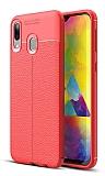 Dafoni Liquid Shield Premium Samsung Galaxy M20 Kırmızı Silikon Kılıf