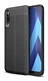 Dafoni Liquid Shield Premium Samsung Galaxy M30 Siyah Silikon Kılıf