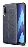 Dafoni Liquid Shield Premium Samsung Galaxy M30 Lacivert Silikon Kılıf