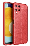 Dafoni Liquid Shield Premium Samsung Galaxy M32 Kırmızı Silikon Kılıf