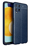 Dafoni Liquid Shield Premium Samsung Galaxy M32 Lacivert Silikon Kılıf