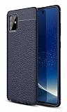 Dafoni Liquid Shield Premium Samsung Galaxy Note 10 Lite Lacivert Silikon Kılıf