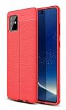 Dafoni Liquid Shield Premium Samsung Galaxy Note 10 Lite Kırmızı Silikon Kılıf