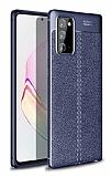 Dafoni Liquid Shield Premium Samsung Galaxy Note 20 Lacivert Silikon Kılıf