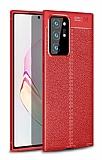 Dafoni Liquid Shield Premium Samsung Galaxy Note 20 Ultra Kırmızı Silikon Kılıf