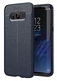 Dafoni Liquid Shield Premium Samsung Galaxy S8 Plus Lacivert Silikon Kılıf