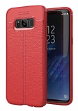 Dafoni Liquid Shield Premium Samsung Galaxy S8 Plus Kırmızı Silikon Kılıf