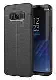Dafoni Liquid Shield Premium Samsung Galaxy S8 Plus Siyah Silikon Kılıf
