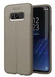 Dafoni Liquid Shield Premium Samsung Galaxy S8 Gri Silikon Kılıf