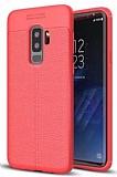 Dafoni Liquid Shield Premium Samsung Galaxy S9 Plus Kırmızı Silikon Kılıf