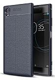 Dafoni Liquid Shield Premium Sony Xperia XA1 Plus Lacivert Silikon Kılıf