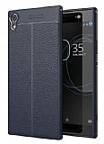 Dafoni Liquid Shield Premium Sony Xperia XA1 Ultra Lacivert Silikon Kılıf