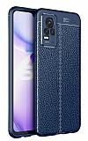Dafoni Liquid Shield Premium vivo V21E Lacivert Silikon Kılıf