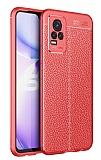 Dafoni Liquid Shield Premium vivo V21E Kırmızı Silikon Kılıf