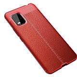 Dafoni Liquid Shield Premium Xiaomi Mi 10 Lite Kırmızı Silikon Kılıf