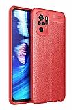 Dafoni Liquid Shield Premium Xiaomi Redmi Note 10 Kırmızı Silikon Kılıf