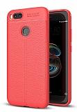 Dafoni Liquid Shield Premium Xiaomi Mi 5X / Mi A1 Kırmızı Silikon Kılıf