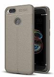 Dafoni Liquid Shield Premium Xiaomi Mi 5X Gri Silikon Kılıf