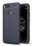 Dafoni Liquid Shield Premium Xiaomi Mi 5X / Mi A1 Lacivert Silikon Kılıf