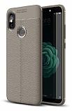 Dafoni Liquid Shield Premium Xiaomi Mi A2 Gri Silikon Kılıf