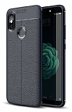 Dafoni Liquid Shield Premium Xiaomi Mi A2 Lacivert Silikon Kılıf