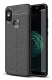 Dafoni Liquid Shield Premium Xiaomi Mi A2 Siyah Silikon Kılıf