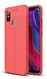 Dafoni Liquid Shield Premium Xiaomi Mi 8 Kırmızı Silikon Kılıf
